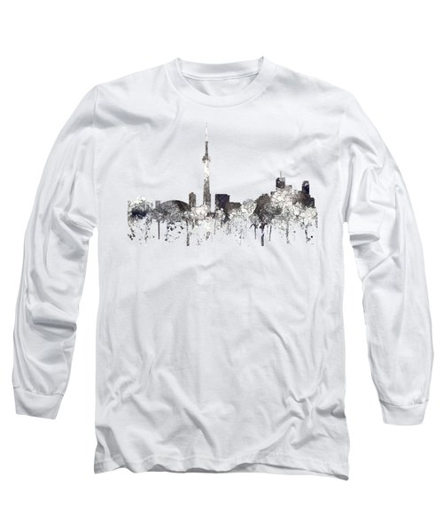 Toronto Ont.skyline Long Sleeve T-Shirt