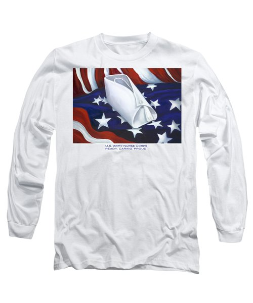 U.s. Army Nurse Corps Long Sleeve T-Shirt