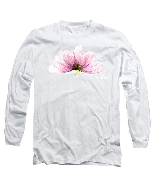 X-ray Of Peony Flower Long Sleeve T-Shirt
