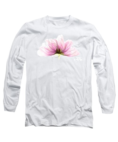 X-ray Of Peony Flower Long Sleeve T-Shirt