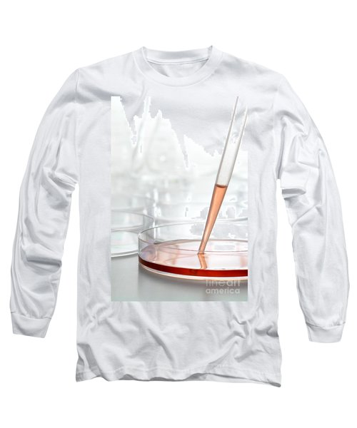 Laboratory Experiment In Science Research Lab Long Sleeve T-Shirt