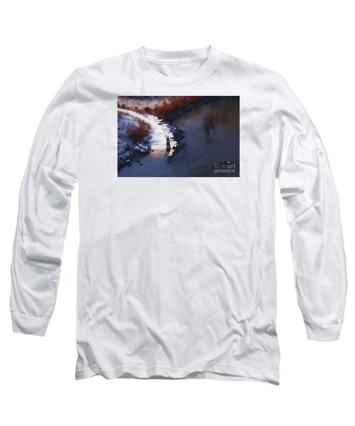 Long Sleeve T-Shirt featuring the digital art 33rd And Canal by David Blank