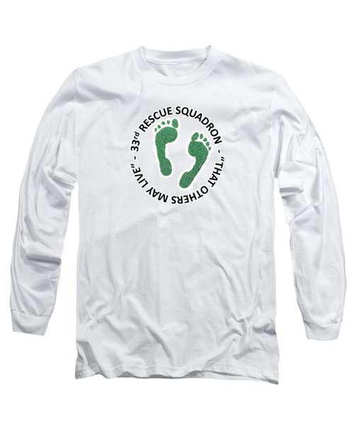 33rd Rescue Squadron Long Sleeve T-Shirt
