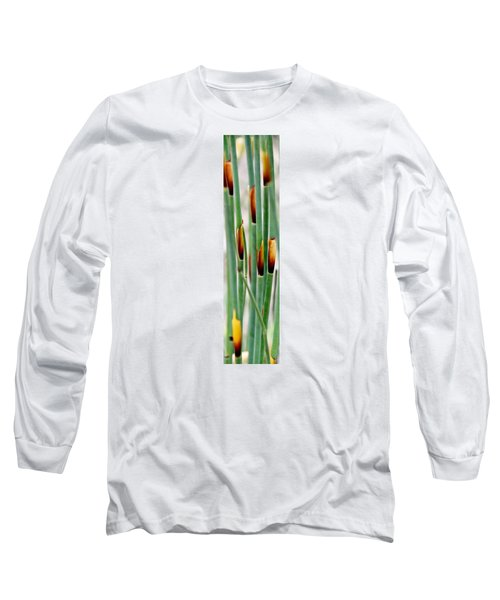 Long Sleeve T-Shirt featuring the photograph Bamboo Grass by Werner Lehmann