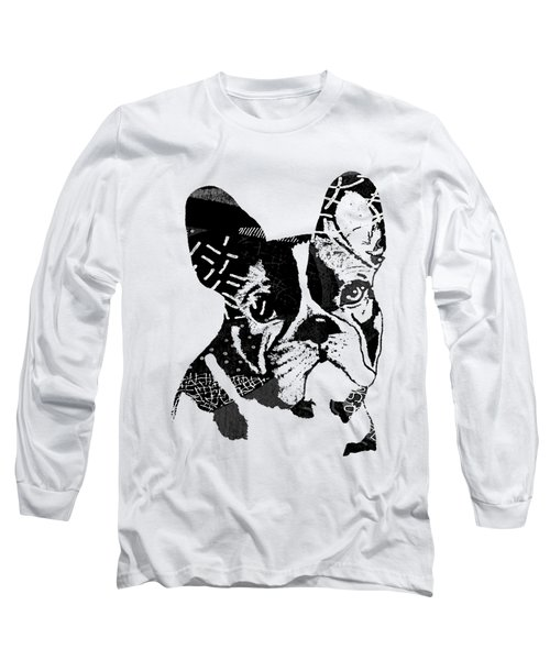 French Bulldog Collection Long Sleeve T-Shirt by Marvin Blaine