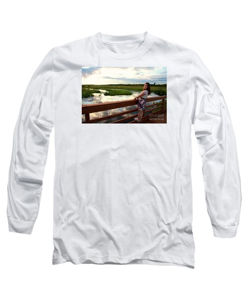 3740 Long Sleeve T-Shirt by Mark J Seefeldt