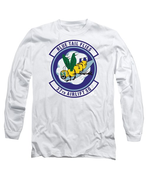 37th Tactical Airlift Squadron Long Sleeve T-Shirt by David Bearden