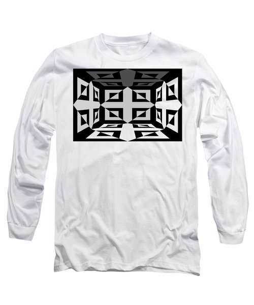 Long Sleeve T-Shirt featuring the photograph 3d Mg3d4w by Mike McGlothlen