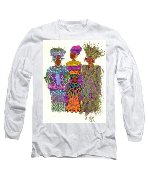 3rd Generation - We Women Folk Long Sleeve T-Shirt by Angela L Walker