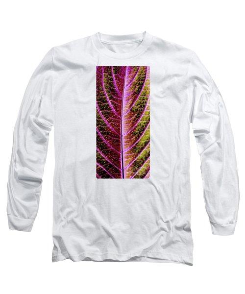 Abstract Long Sleeve T-Shirt by Tony Cordoza