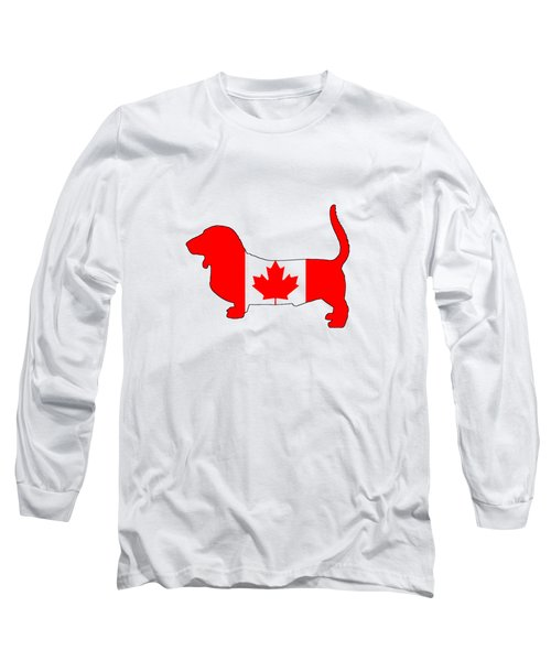 Basset Hound  Long Sleeve T-Shirt by Mordax Furittus