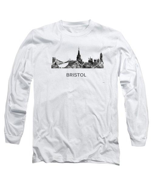 Bristol England Skyline Long Sleeve T-Shirt