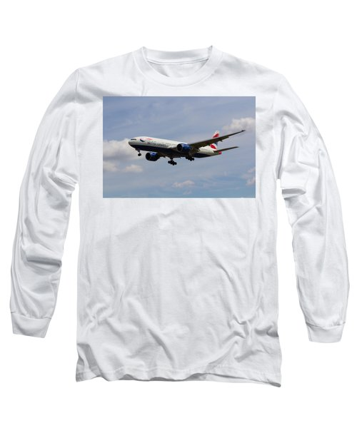 British Airways Boeing 777 Long Sleeve T-Shirt