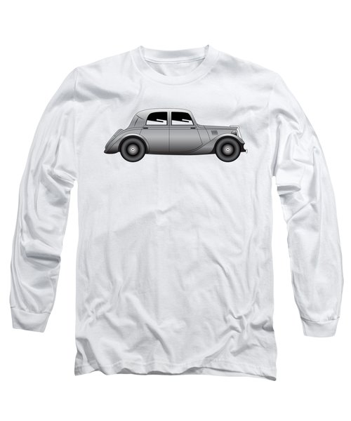 Long Sleeve T-Shirt featuring the digital art Coupe - Vintage Model Of Car by Michal Boubin