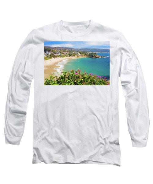 Crescent Bay, Laguna Beach, California Long Sleeve T-Shirt