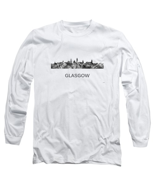 Glasgow Scotland Skyline Long Sleeve T-Shirt
