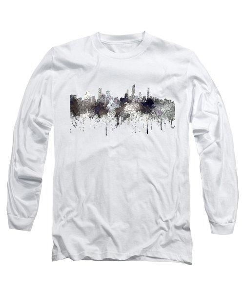 Gold Coast Australia Skyline  Long Sleeve T-Shirt