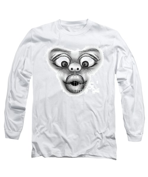 Magic Face Long Sleeve T-Shirt