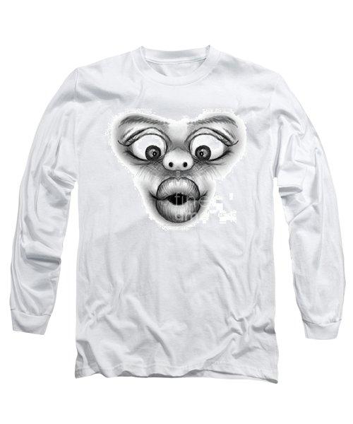 Magic Face Long Sleeve T-Shirt