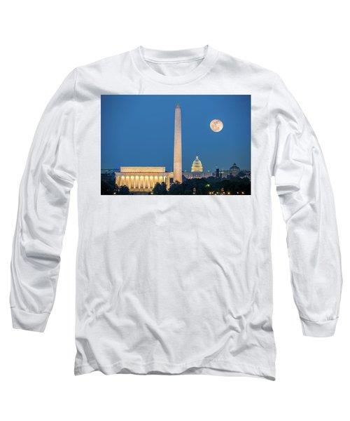 4 Monuments Long Sleeve T-Shirt