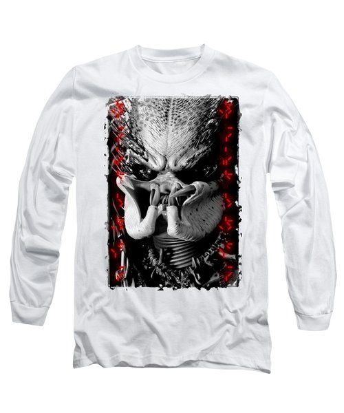 Predator Yautja Long Sleeve T-Shirt