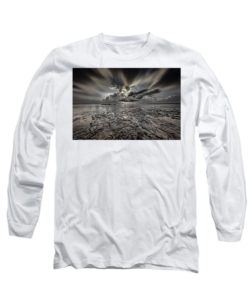 Seascape Of Hilton Head Island Long Sleeve T-Shirt
