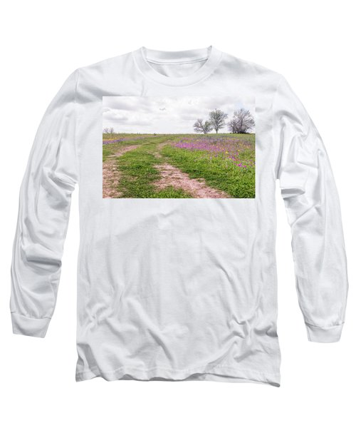 Texas Wildflowers 3 Long Sleeve T-Shirt
