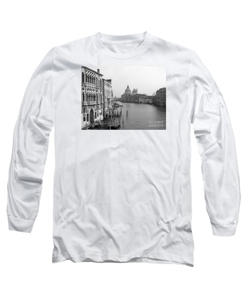The Grand Canal In Venice Long Sleeve T-Shirt
