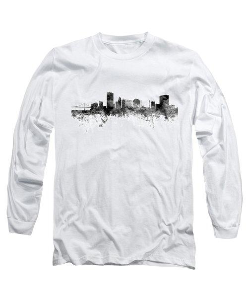 Toledo Ohio Skyline Long Sleeve T-Shirt