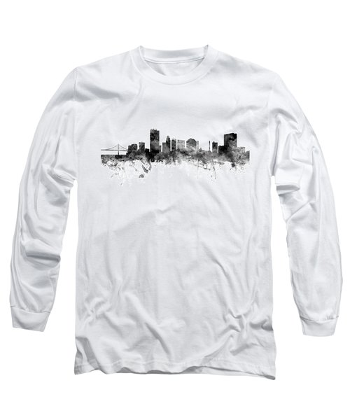 Toledo Ohio Skyline Long Sleeve T-Shirt