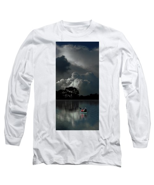 Long Sleeve T-Shirt featuring the photograph 4477 by Peter Holme III
