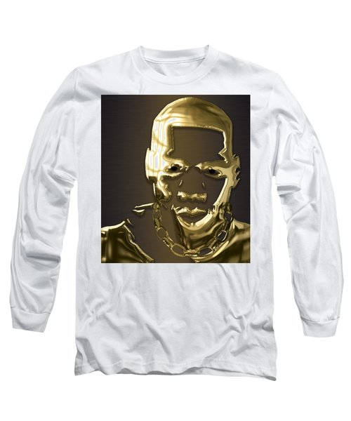 Jay Z Collection Long Sleeve T-Shirt by Marvin Blaine