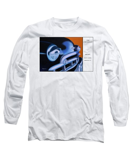49 Chevy Poster Long Sleeve T-Shirt