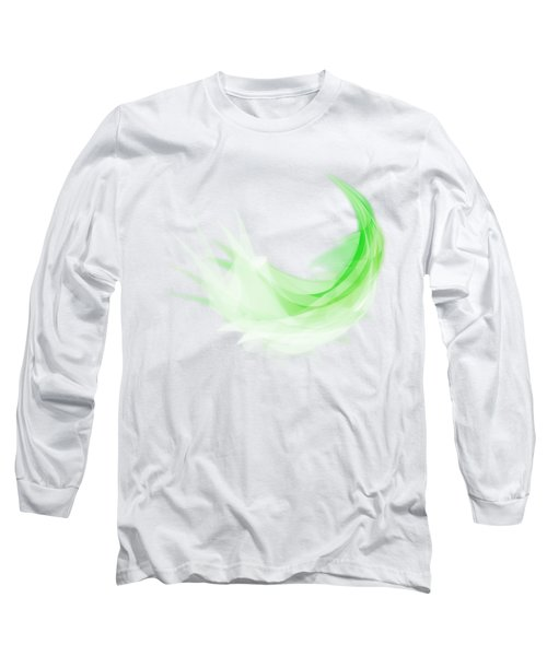 Abstract Feather Long Sleeve T-Shirt