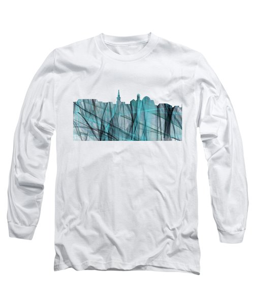 Alexandria Virginia Skyline Long Sleeve T-Shirt