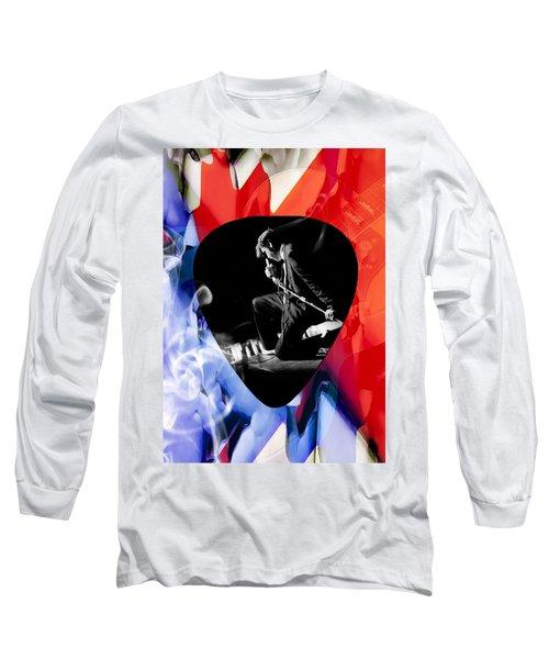 Elvis Presley Art Long Sleeve T-Shirt by Marvin Blaine