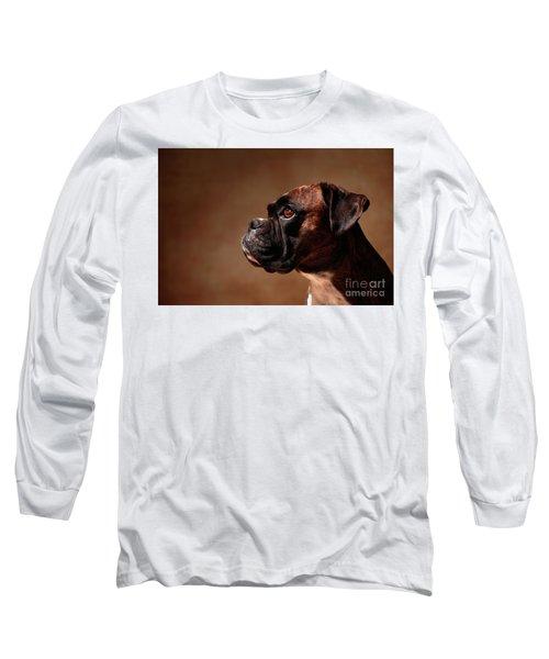 German Boxer Dog Long Sleeve T-Shirt