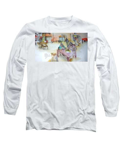 Italy Love Scroll Long Sleeve T-Shirt by Debbi Saccomanno Chan