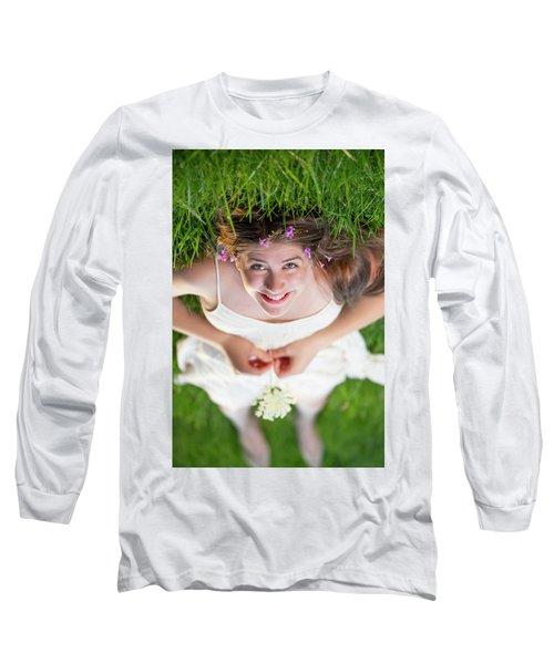 Mckenna Senior Portrait Long Sleeve T-Shirt