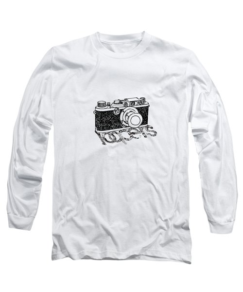 Long Sleeve T-Shirt featuring the painting Rangefinder Camera by Setsiri Silapasuwanchai