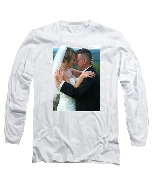 Long Sleeve T-Shirt featuring the photograph Rebecca And David by Michael Dorn