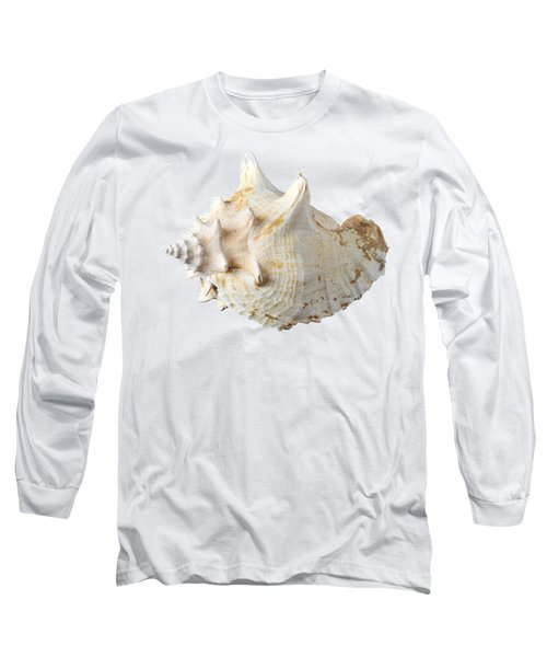 Long Sleeve T-Shirt featuring the photograph Sea Shell by George Atsametakis