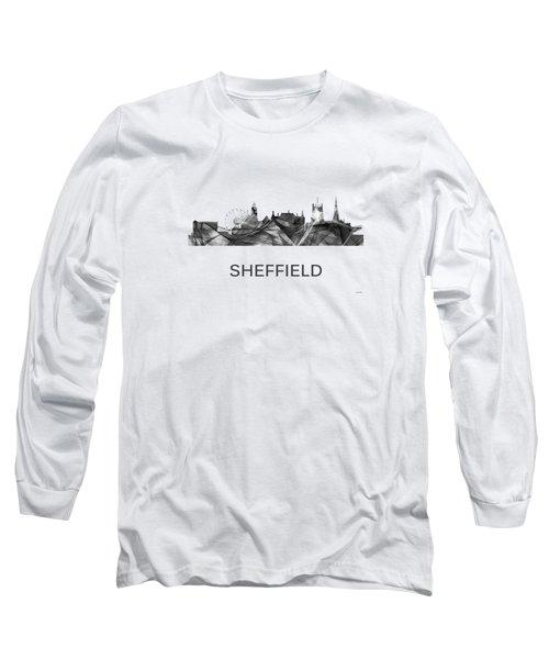 Sheffield England Skyline Long Sleeve T-Shirt