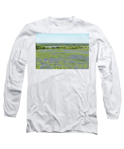 Texas Bluebonnets 10 Long Sleeve T-Shirt
