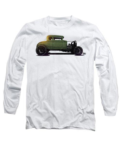 5 Window Hot Rod Long Sleeve T-Shirt