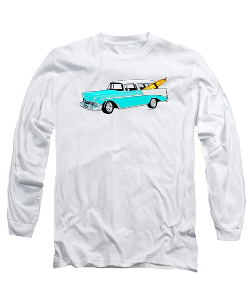 56 Nomad By The Sea In The Morning With Vivachas Long Sleeve T-Shirt
