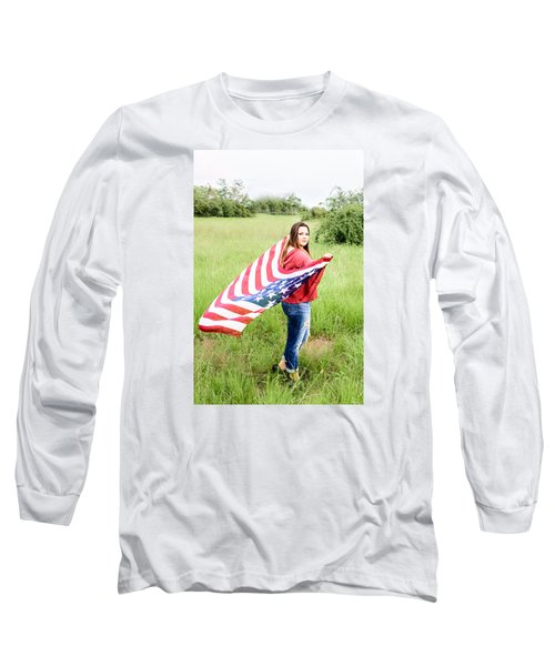Long Sleeve T-Shirt featuring the photograph 5644-2 by Teresa Blanton