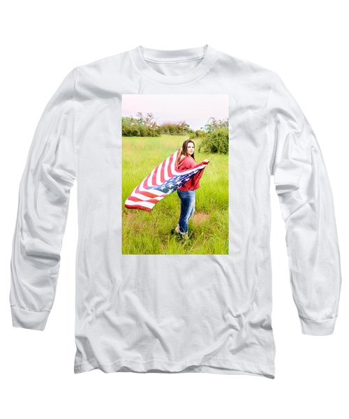Long Sleeve T-Shirt featuring the photograph 5644 by Teresa Blanton