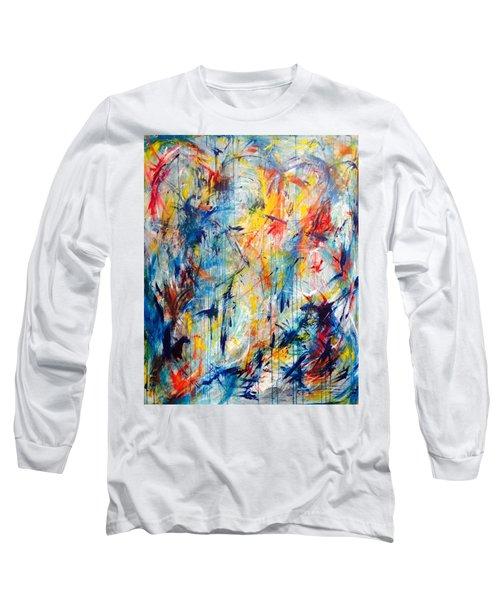 5th Chakra Meditation  Long Sleeve T-Shirt