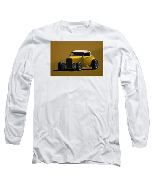 1932 Ford Roadster Hot Rod Long Sleeve T-Shirt by Tim McCullough